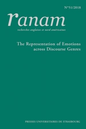 The Representation of Emotions across Discourse Genres - presses universitaires de strasbourg - 9791034400188 -