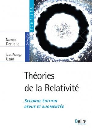 Théories de la relativité - belin - 9791035807016 -