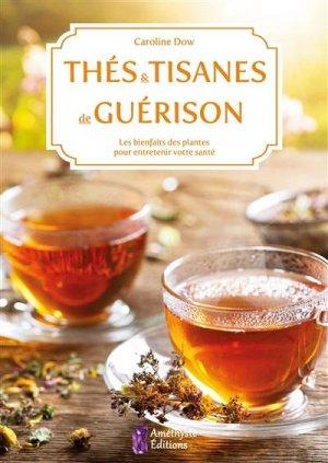 Thés et tisanes de guérison. Des recettes simples pour soigner et entretenir votre santé, 2e édition - amethyste - 9791097154608 -