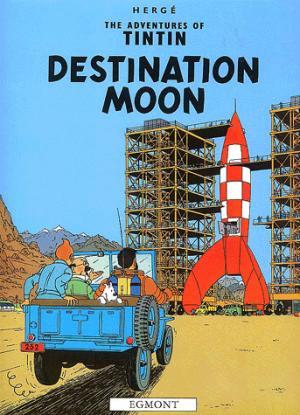 The Adventures of Tintin : Destination Moon - egmont - 9781405206273 -
