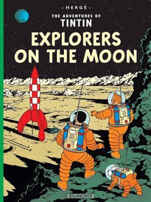 TINTIN EXPLORERS ON THE MOON  - EGMONT - 9781405206280 -