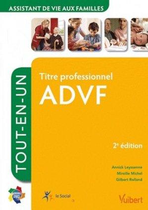 Titre professionnel  ADVF - vuibert - 9782311007800 -