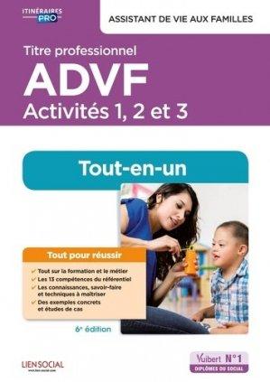 Titre professionnel ADVF - Activités 1 à 3 - vuibert - 9782311207804 -