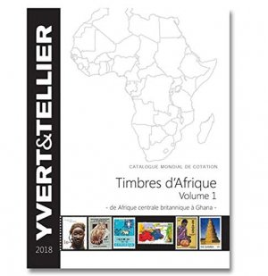 Timbres d'Afrique - yvert and tellier - 9782868142726 -