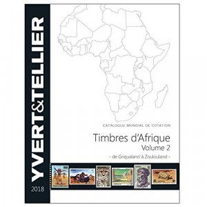 Timbres d'Afrique francophone - yvert and tellier - 9782868142740 -