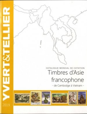Timbre d'Asie francophone. Edition 2019 - Yvert and Tellier - 9782868142818 -