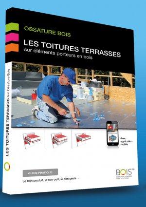 Toitures terrasses sur ossature bois - bois pe - 9782955640500 -