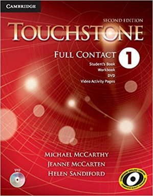 Touchstone Level - 1 Full Contact with DVD Video - cambridge - 9781107683303 -
