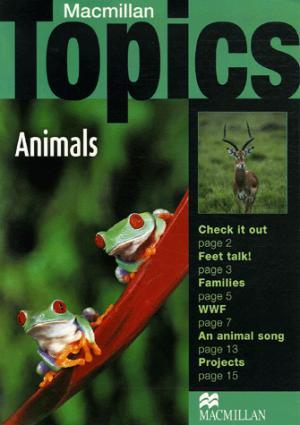 Animals - Macmillan - 9781405095013 -