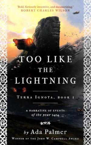 Too Like the Lightning - head of zeus - 9781786699503 -