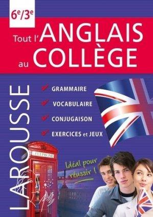 Tout l'anglais au collège - larousse - 9782035919496 -