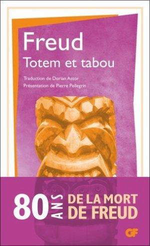 Totem et tabou - flammarion - 9782081493674 -
