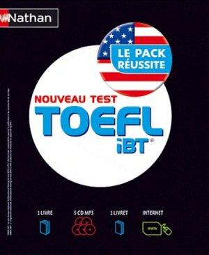 Nouveau test TOEFL iBT - Nathan - 9782098116702 -