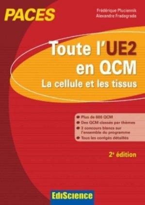 Toute l'UE2 en QCM - édiscience - 9782100701025 -