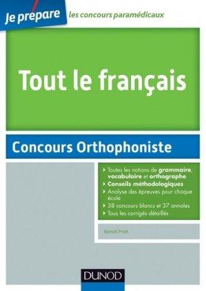 Tout le Français - dunod - 9782100706143 -