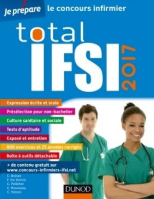 Total IFSI 2017 - Concours Infirmier - dunod - 9782100753574