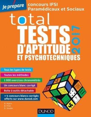TOTAL Tests d'aptitude et psychotechniques - 2017 - dunod - 9782100753628 -