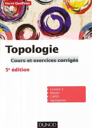 Topologie - dunod - 9782100754175
