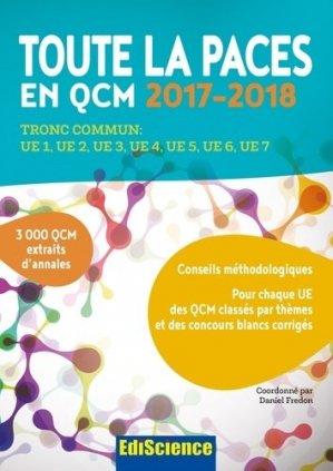 Toute la PACES en QCM 2017-2018-ediscience-9782100763252