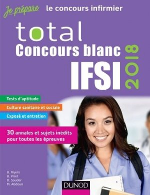 Total Concours blancs ISFI 2018 - dunod - 9782100775996 -