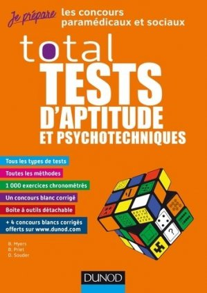 Total Tests d'aptitude et psychotechniques - dunod - 9782100789252 -