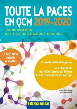 Toute la PACES en QCM 2019-2020 - ediscience - 9782100796229 -