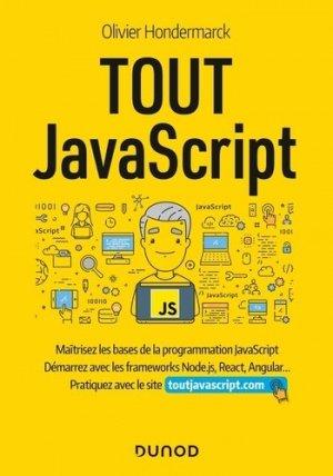 Tout Javascript - dunod - 9782100807598 -