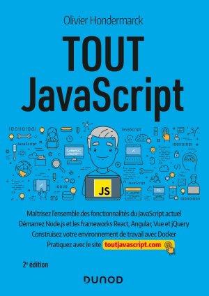 Tout JavaScript - 2e éd. - dunod - 9782100814305 -