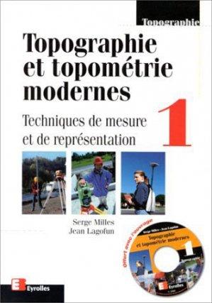 Topographie et topométrie modernes - eyrolles - 9782212022872 -