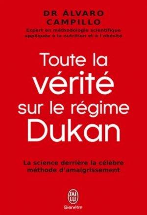 Toute la vérité sur le régime Dukan - j'ai lu - 9782290059906 -
