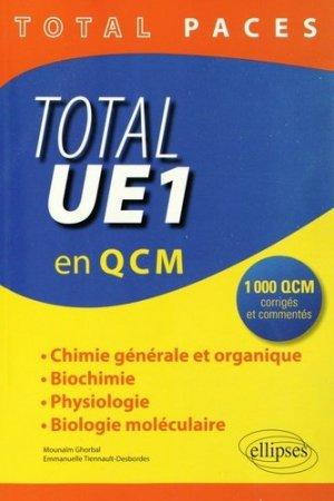 Total UE1 en QCM - ellipses - 9782340000919 -