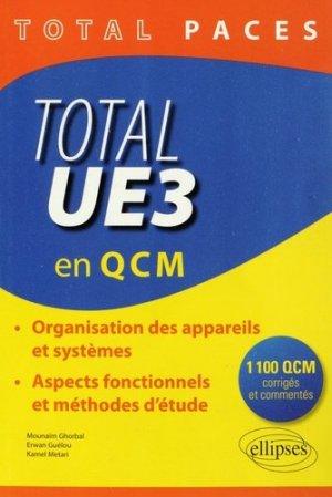 Total UE3 en QCM - ellipses - 9782340001046 -