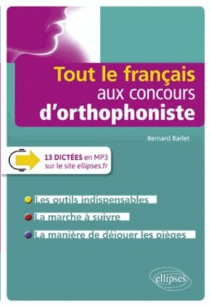 Tout le français aux concours d'orthophonistes - ellipses - 9782340020177 -