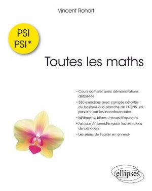 Toutes les maths en PSI-PSI* - ellipses - 9782340024717