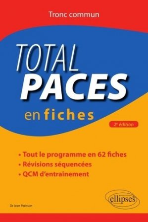 Total PACES en fiches - ellipses - 9782340032835 -