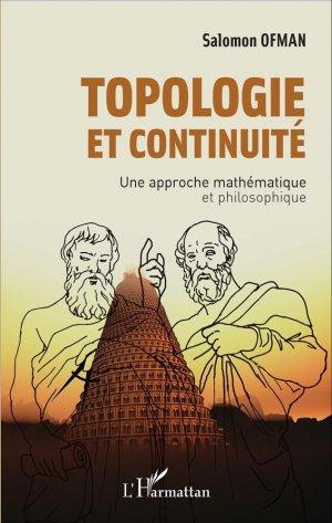 Topologie et continuité - l'harmattan - 9782343087146