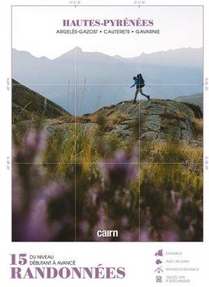 Topo-guide : 15 randonnées dans les Hautes-Pyrénées - cairn - 9782350689197 -