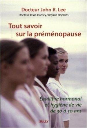 Tout savoir sur la préménopause - sully - 9782354320768 -