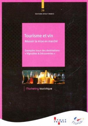 Tourisme et vin - atout france - 9782367110165 -