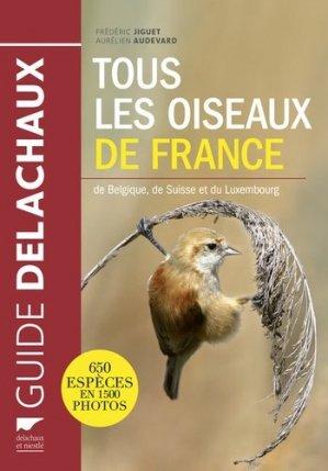 Tous les oiseaux de France - delachaux et niestle - 9782603020746 -