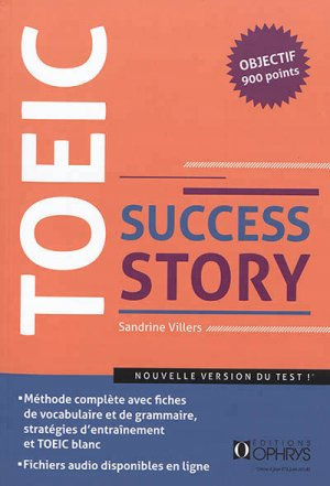 TOEIC Success Story - ophrys - 9782708015326 -