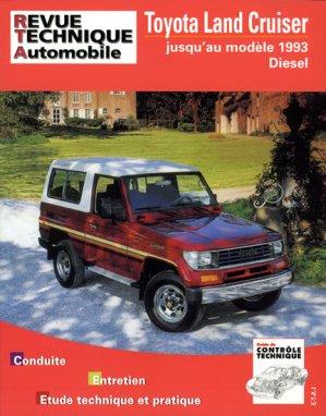 Toyota ''Land Cruiser'' LJ70 - 73 (moteurs Diesel) - etai - editions techniques pour l'automobile et l'industrie - 9782726849330 -