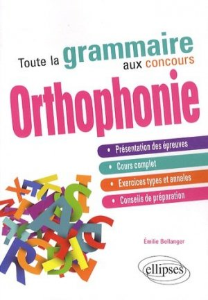 Toute la grammaire au concours Orthophonie - ellipses - 9782729883447