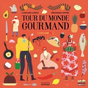 Tour du monde gourmand - de la martiniere - 9782732489759 -