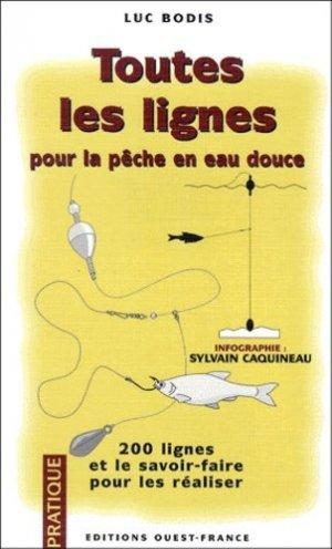 Toutes les lignes pour la pêche en eau douce - ouest-france - 9782737326288 -