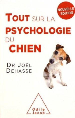 Tout sur la psychologie du chien - odile jacob - 9782738147899 -