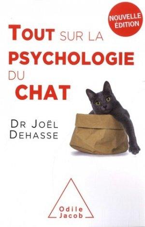 Tout sur la psychologie du chat - odile jacob - 9782738147905