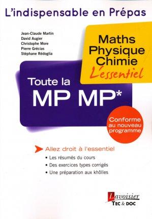 Toute la MP MP* - lavoisier / tec et doc - 9782743021696 -
