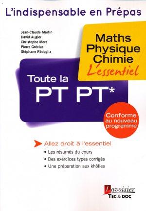 Toute la PT PT* - lavoisier / tec et doc - 9782743021719
