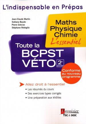 Toute la BCPST-VÉTO 2e année - lavoisier / tec et doc - 9782743021733